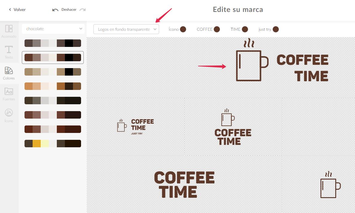 Cómo Cambiar El Color La Fuente El Texto Del Logotipo U Otros Productos Logaster